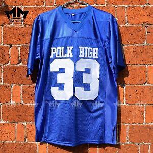 a72cfb6c1 Al Bundy 33 Polk High American Football Jersey High Quality Blue ...