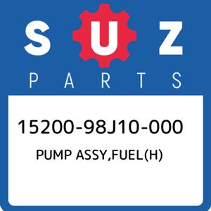 15200-98J10-000-Suzuki-Pump-assy-fuel-h-1520098J10000-New-Genuine-OEM-Part