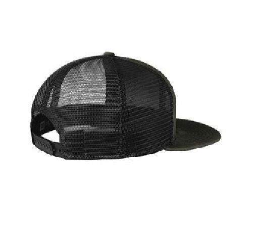 New Era 9FIFTY Mesh Snapback Hat Original Fit Trucker Cap Blank Flat Brim 950
