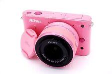 NIKON 1 J1 10.1 MP 3''Screen Camera with 10-30mm 1/3.5-5.6 VR Lens - PINK