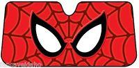 Spiderman Web Deluxe Accordian Car Auto Windshield Sun Shade Sunshade Screen