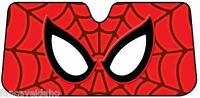 Spiderman Web Deluxe Accordian Car Auto Windshield Sun Shade Sunshade Screen