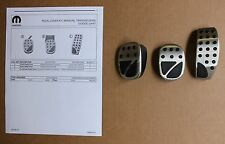 2013 Dart Manual Transmission Gas Brake Clutch Pedal Cover Kit OEM Factory Pad