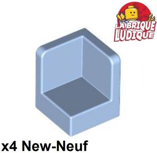 Lego 4x Panel Panneau 1x1x1 Corner Coin bleu clair//bright light blue 6231 NEUF