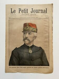 Supplement-Illustre-Le-Petit-Journal-18-09-1898-N-422-GENERAL-RENOUARD