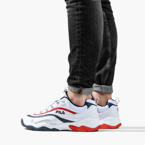 Details about MEN'S SHOES SNEAKERS FILA RAY F LOW [1010578 01M]
