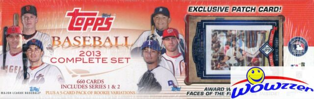 2013 Topps Baseball 666 Card Complete Factory Set 2 Mike Troutexclusive Patch