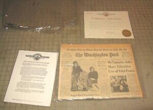 July 12, 1967 THE WASHINGTON POST Final Ed Full Newspaper, Historic Archives COA