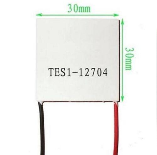 5PCS Slim TES1-12704 12V Heatsink TEC Thermoelectric Cooler Peltier 30mm*30mm