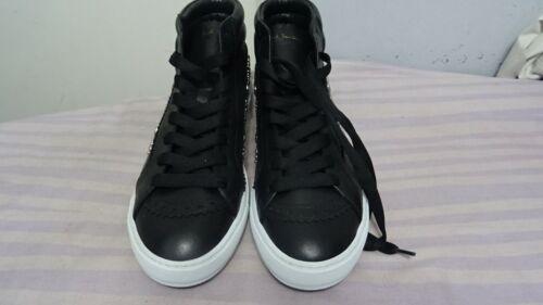 Zapatos para hombre diseñador Paul Smith, Cuero Calado, Low Top Negro Botas & entrenadores Reino Unido 11
