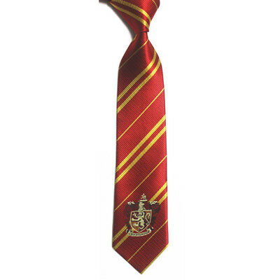 Harry Potter Costume Props Wizards Mens Tie for Fancy Cosplay Outfit