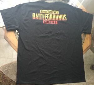 Details about PUBG SDCC 2018 EXCLUSIVE SHIRT W/ HELL MASK PROMO CODE