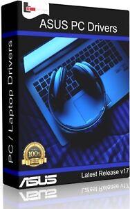 ASUS Windows PC & Laptop DRIVERS Recovery/Restore/Repair/Install XP/Vista/7/8/10 742880890554