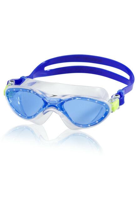 Speedo Kids Hydrospex Classic Swim Mask - Black/Blue Moon
