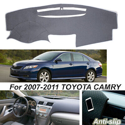 DashMat Dashboard Cover Toyota Camry Polyester, Gray