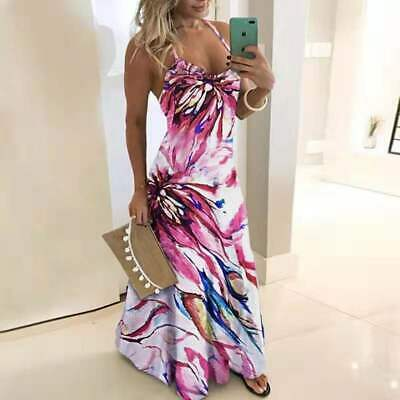 Womens Home Boho Color Maxi Evening Cocktail Party Beach Office Dresses Sundress Ebay,How To Properly Set A Table Youtube