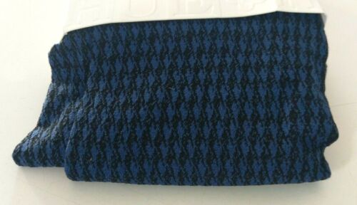 size small//medium new NWT blue houndstooth BLUE womens tights made in USA
