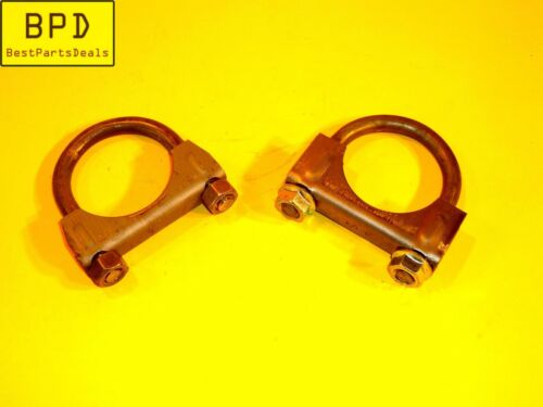 AMGAUGE H134 SET OF 2-1 3//4 Inch Heavy Duty Muffler Clamp 3//8 U Bolt