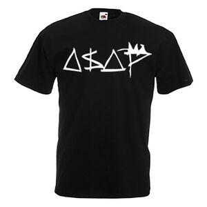 Original-marche-noir-t-shirt-Hommes-Modele-vsvp-asap-rocky-dope-swag-Obey-xo