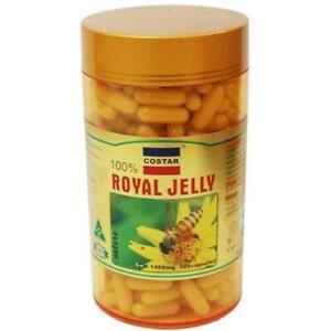 ROYAL-JELLY-1450mg-365-soft-gel-capsules-100-Natural-Made-in-Australia-COSTAR