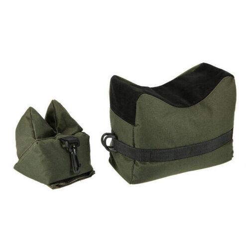 Sniper Hunting Gun Outdoor Shooting Stand Front /& Rear Bag Support Rifle Sandbag
