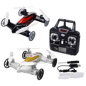Syma-X9S-RC-Modellbau-Spielzeug-2-in-1-Quadrocopter-Drohne-Fliegen-Auto-2-4G