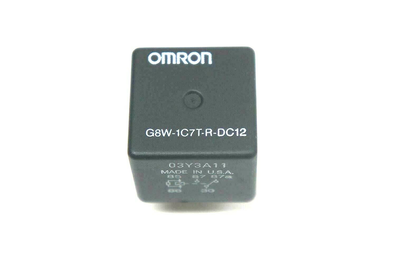 SPDT 35A 12VDC OMRON ELECTRONIC COMPONENTS G8W-1C7T-R-DC12 AUTOMOTIVE RELAY