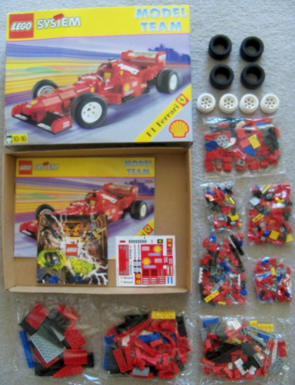 Lego System Racing - Selten Modell Team F1 Ferrari 2556 - Neu (Open Box)