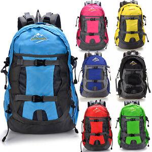 New-30L-Men-Women-Sport-Travel-Bag-Backpack-Daypack-Rucksack-Camping-Hiking-Bag