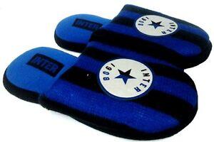 DE FONSECA ciabatte TIFOSO INTER UFFICIALE ragazzo-bimbo mod. STELLATO slippers