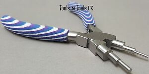 Foam Blue White & Purple 6 in 1 Pliers Wire Looping Forming Bail Making JumpRing