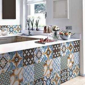 PS00140 Adesivi murali in pvc per piastrelle per bagno e cucina ...