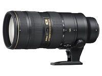 Nikon Nikkor AF-S 70-200mm f/2.8G ED VR II Zoom Lens (Black)  New Import