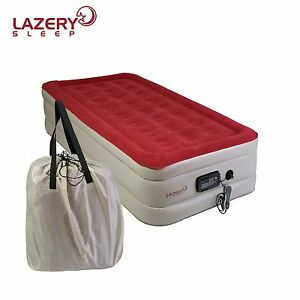 Twin Inflatable Mattress With Built In Pump