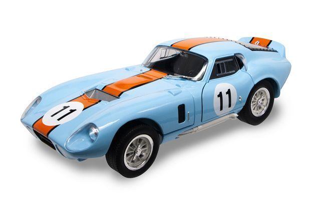 Shelby Cobra Daytona Coupe' 1965 1965 1965  11 Gulf Version 1 18 Model LUCKY DIE CAST b8bd60