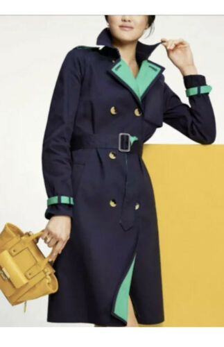 Details about  /Phillip Lim Blue Green NWT Rain Coat X-Small Target Brand Retail $60