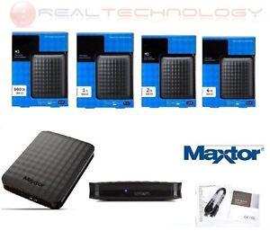 HARD-DISK-ESTERNO-2-5-034-500GB-1TB-2TB-4TB-MAXTOR-USB-3-0-SLIM-NERO-CAVO-USB