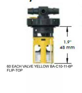 FLOW-RITE-MILLENNIUM-EVO-MASTER-PACK-BA-MMP-11C-60-VALVES-YELLOW-BA-C10-11-6P