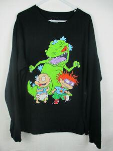 Nickelodeon Mens Size 2xl Large Black