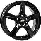 Jantes roues MIM Olympique Saab 9-5 6.5x16 5x110 Glossy Black 807