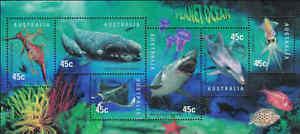 1998-AUSTRALIA-Planet-Ocean-M-S-MNH