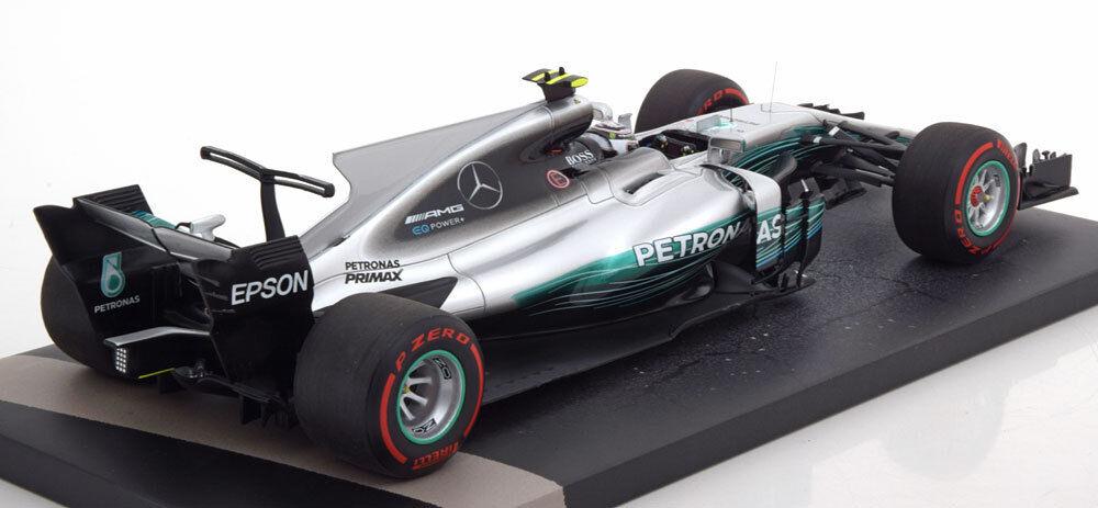 Minichamps Mercedes F1 W08 1st Gp Win Russe 2017 2017 2017 Bottas #77 1/18 le de 110 | La Mode De  69287b