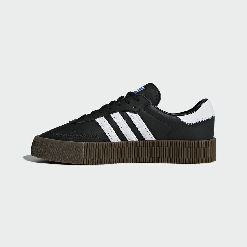 New GUM Adidas Original Damenschuhe SAMBA ROSE BLACK/ Weiß/ GUM New B28156 US W5.5-11 TAKSE b25691