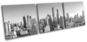 Bangkok-Asia-Skyline-Skyscrapers-City-TREBLE-CANVAS-WALL-ART-Picture-Print