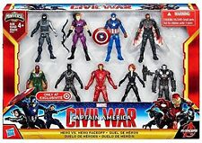 Marvel Captain America Civil War Hero vs Hero Faceoff 9 PACK Figure set