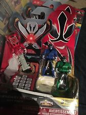 Power Rangers megaforce key set for legendary morpher Samurai rare set