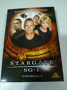 STARGATE-SG-1-Octava-Temporada-8-Serie-TV-6-X-DVD-Extras-ESPANOL-ENGLISH