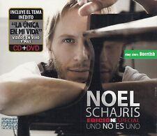 Noel Schajris Uno Es Uno Edicion De Special CD+DVD New Nuevo sealed