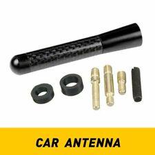 Auxito 3inches Car Antenna Carbon Fiber Radio Fmam Antena Black Kit Universal