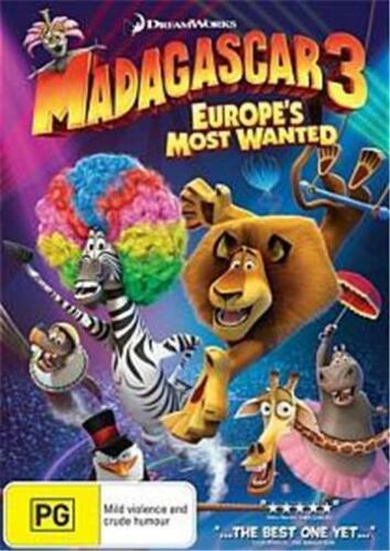 1 of 1 - MADAGASCAR 3: Europe's Most Wanted : NEW DVD